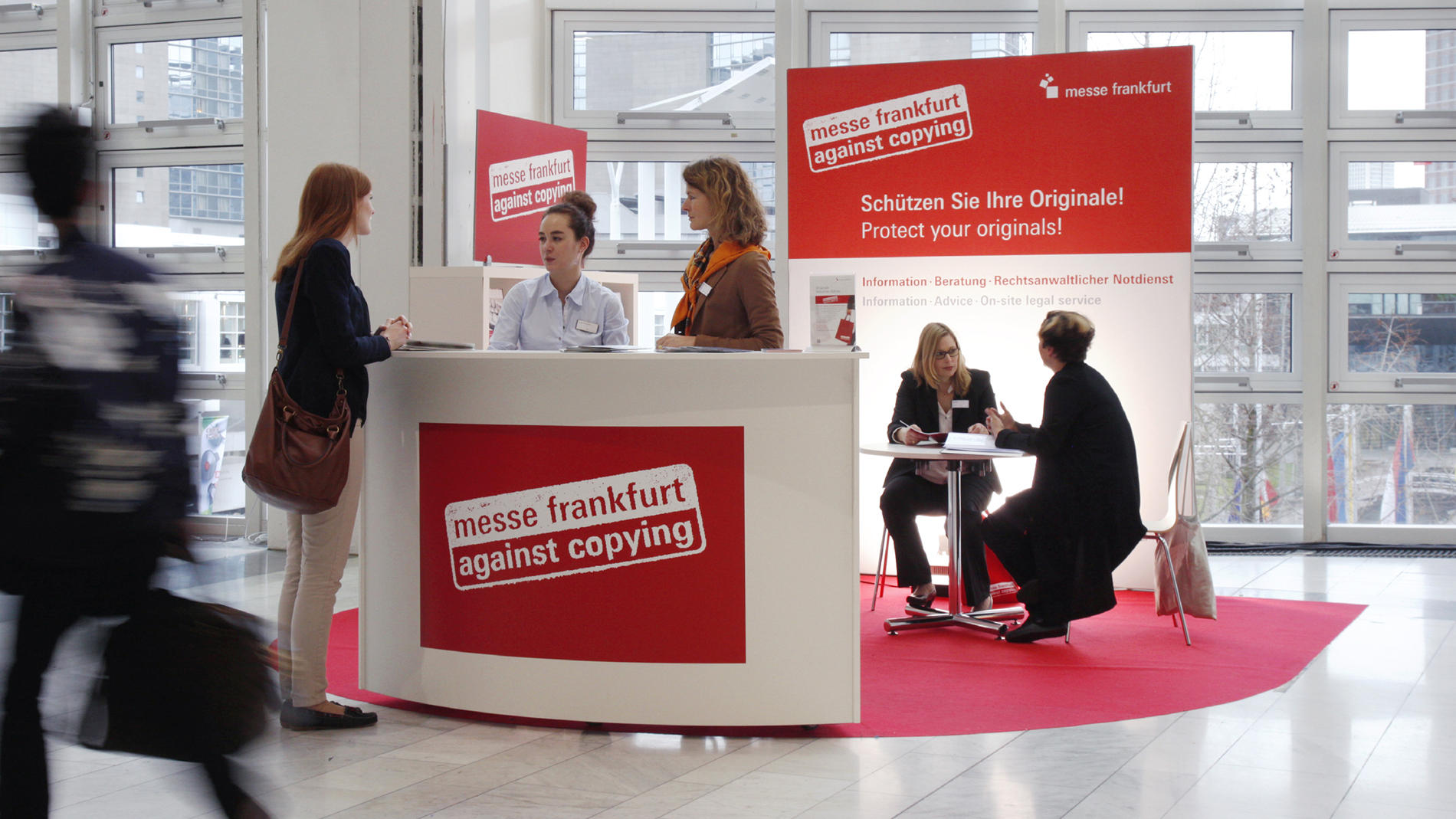 Messe Frankfurt against Copying