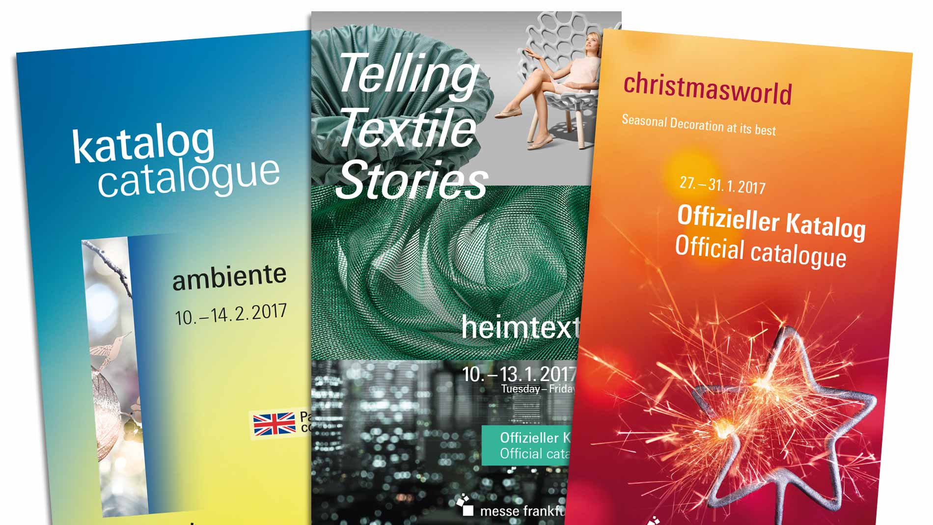 Your advertising opportunities in the trade fair catalogues