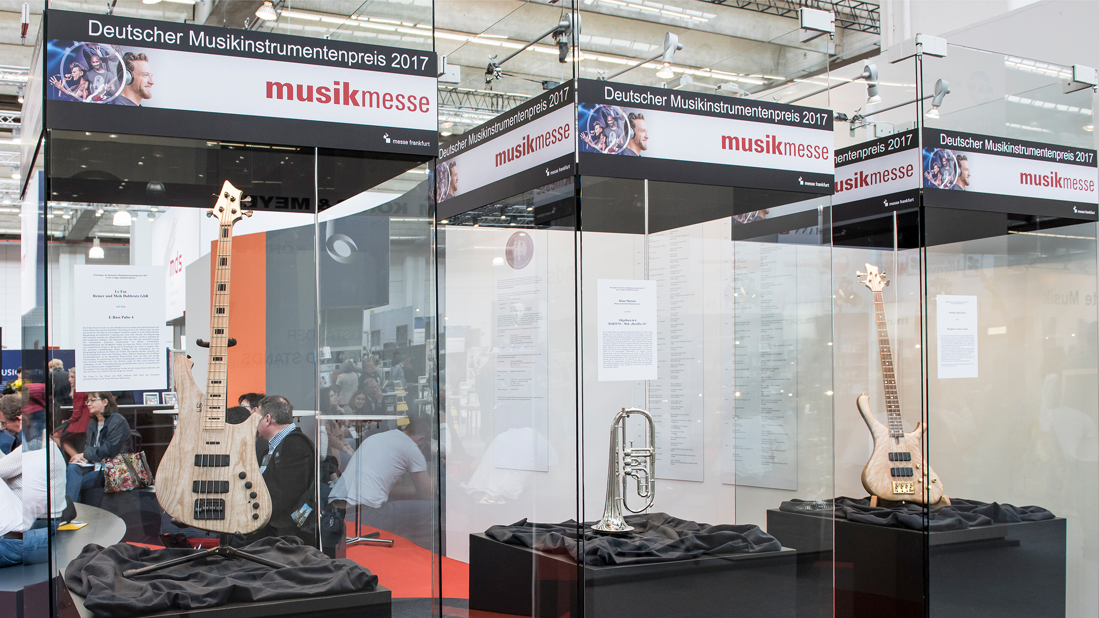German Musical Instrument Award: Exhibition of submitted instruments