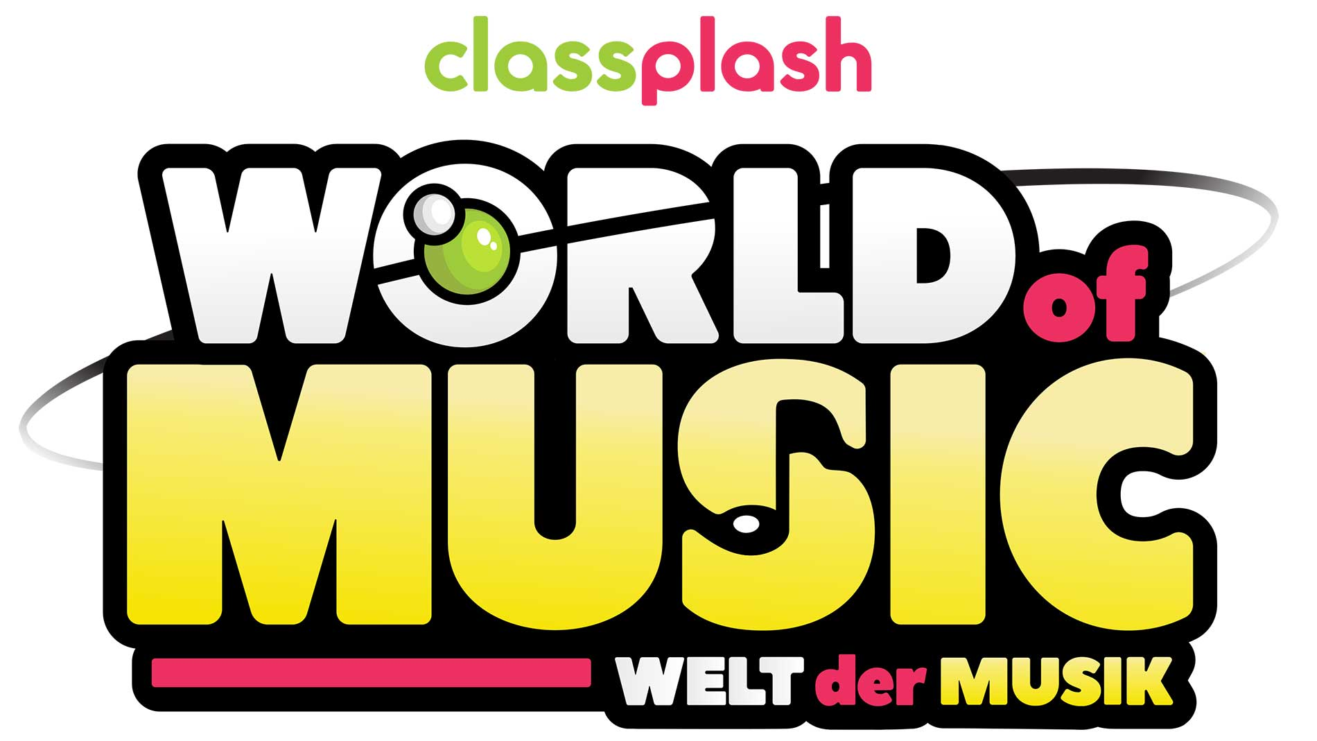 Logo Classplash's World of Music