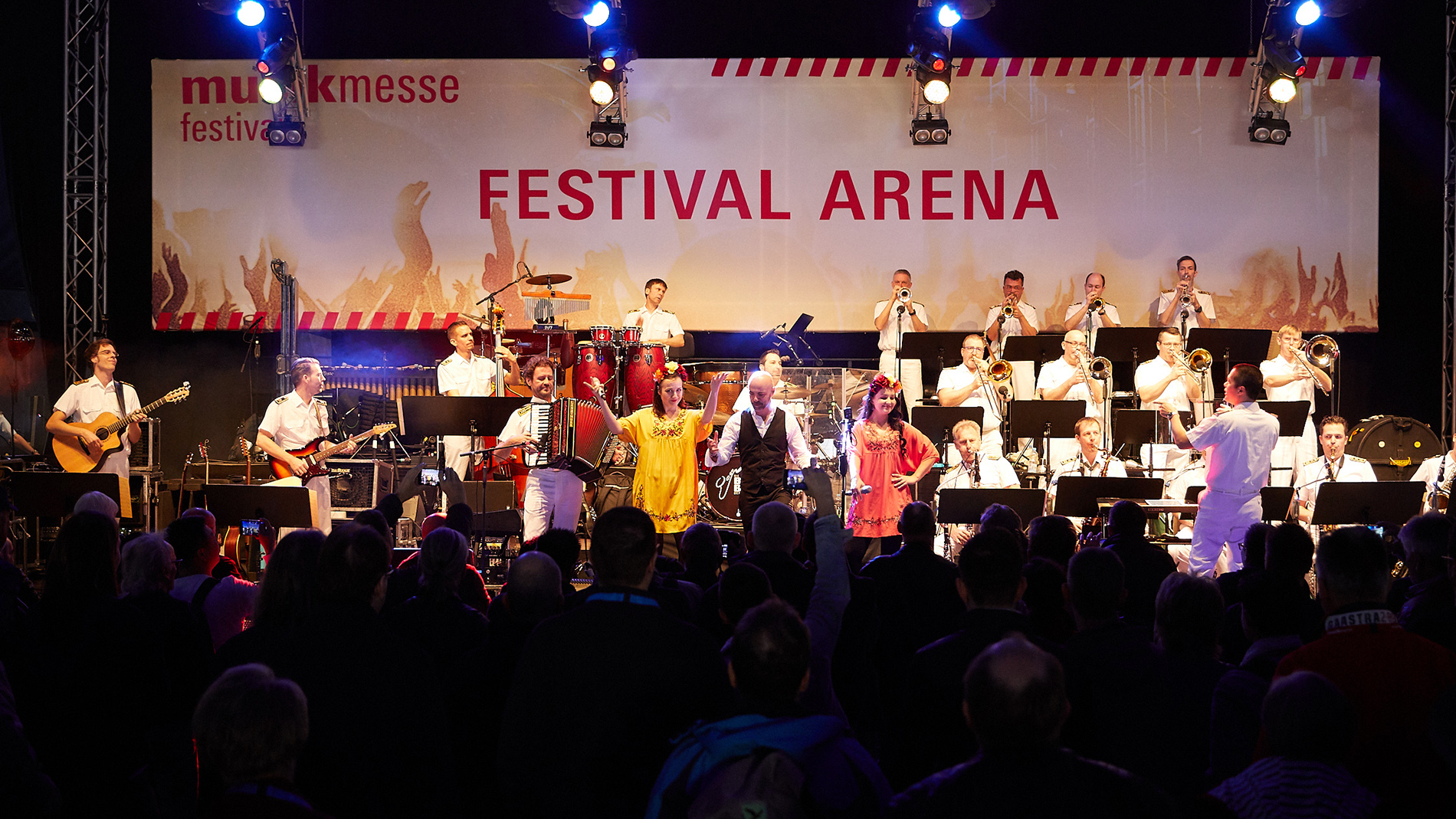 Big Band of the Bundeswehr at the Musikmesse