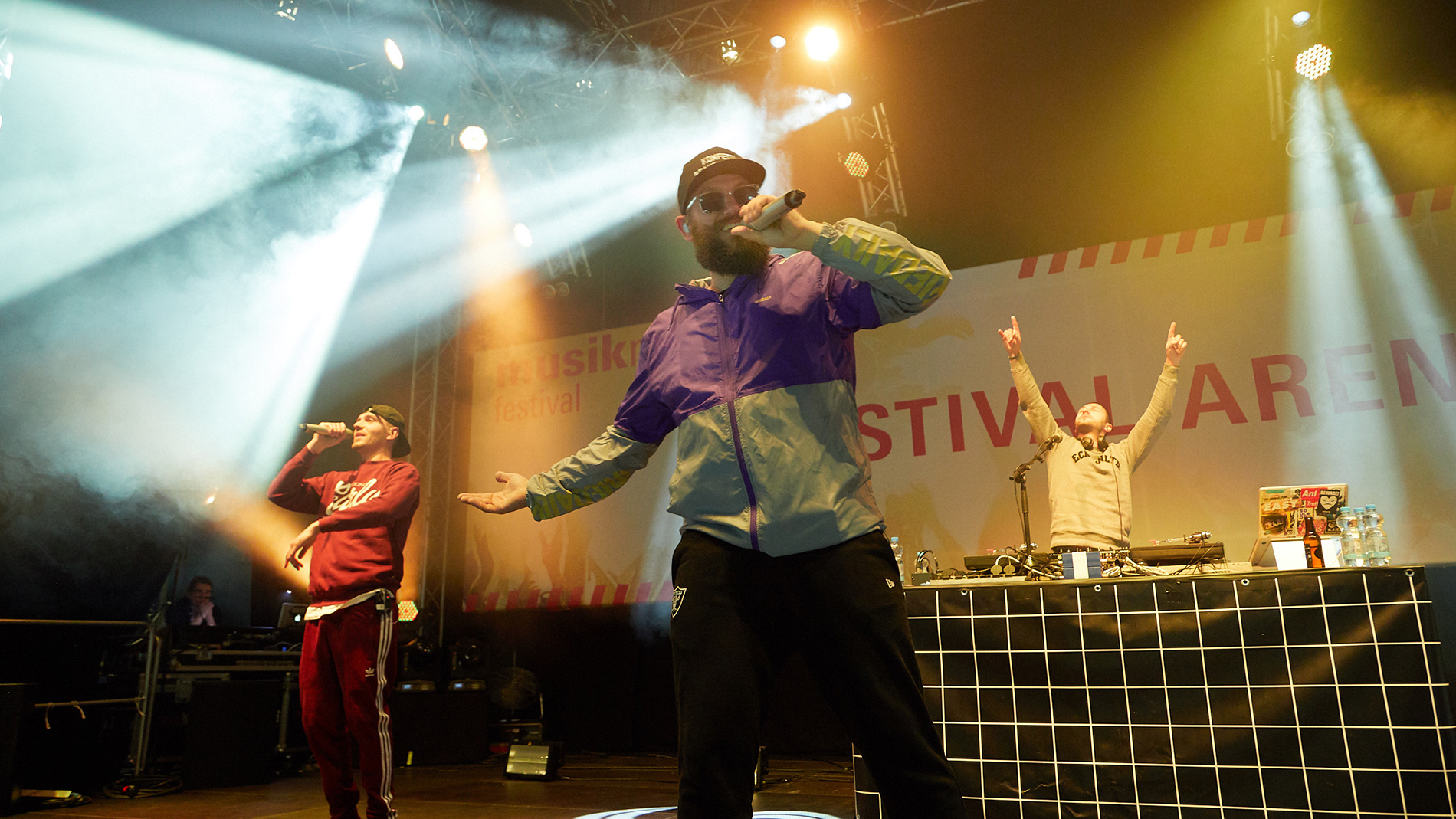 MC Fitti at Festival Arena of Musikmesse