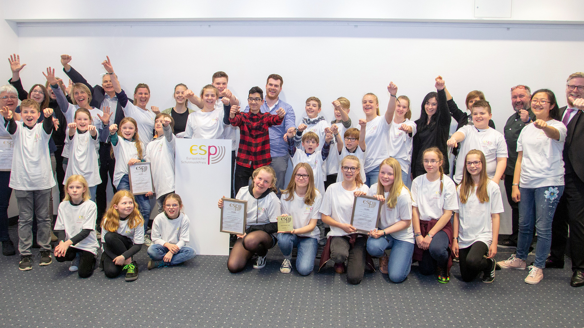 European School Music Prize 2019 - group photo