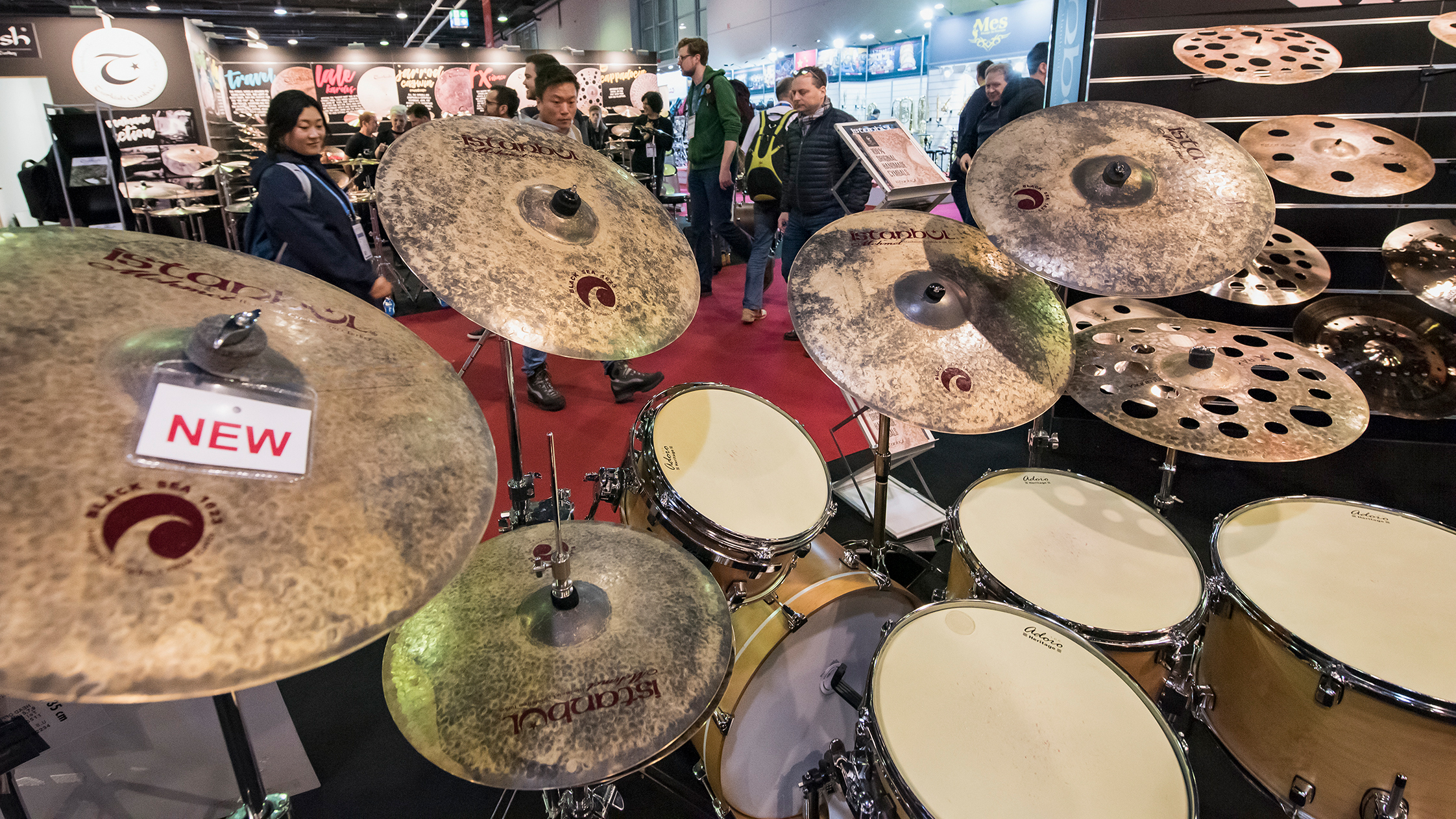 Percussions at Musikmesse