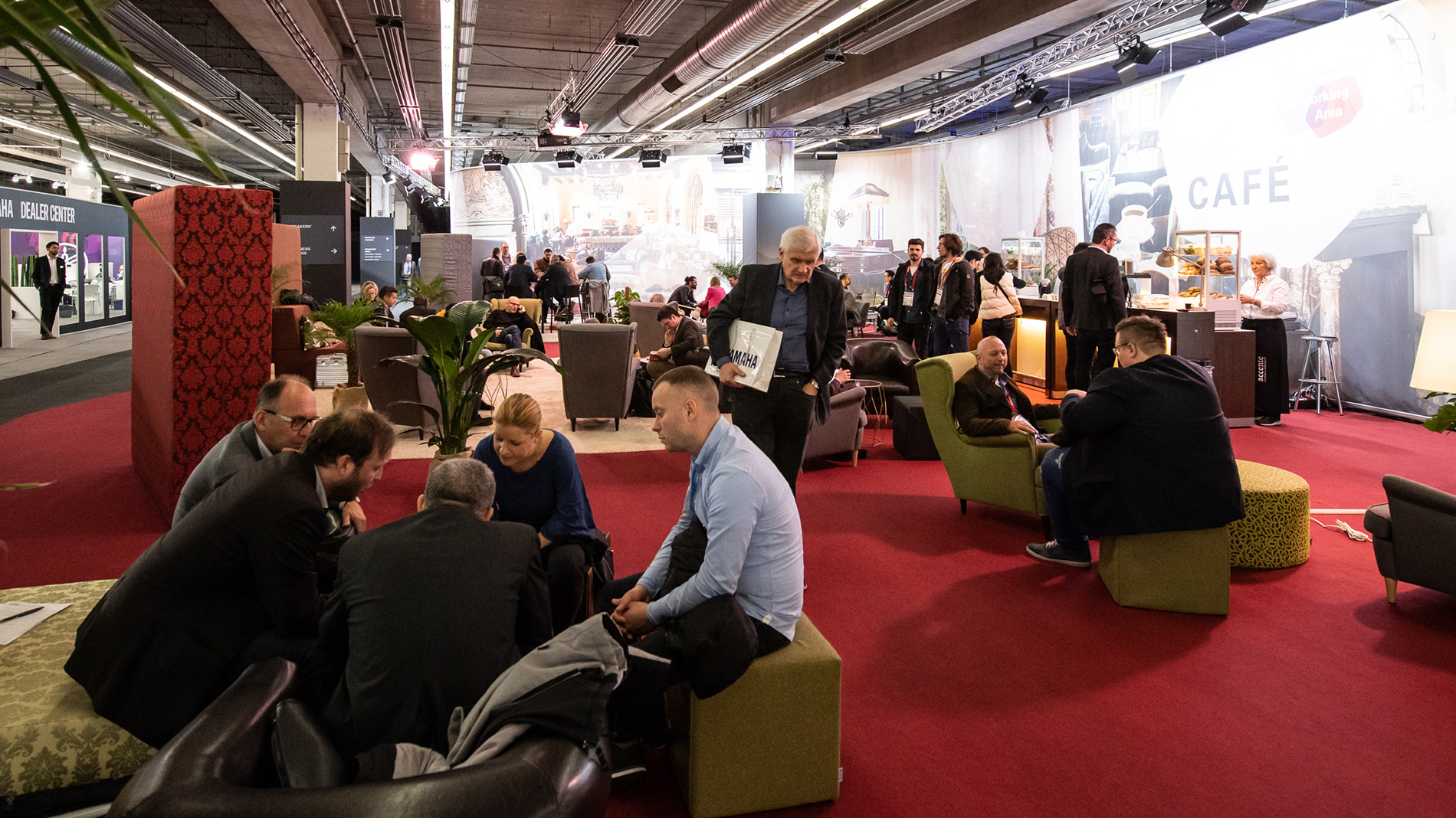 Networking Area at Musikmesse