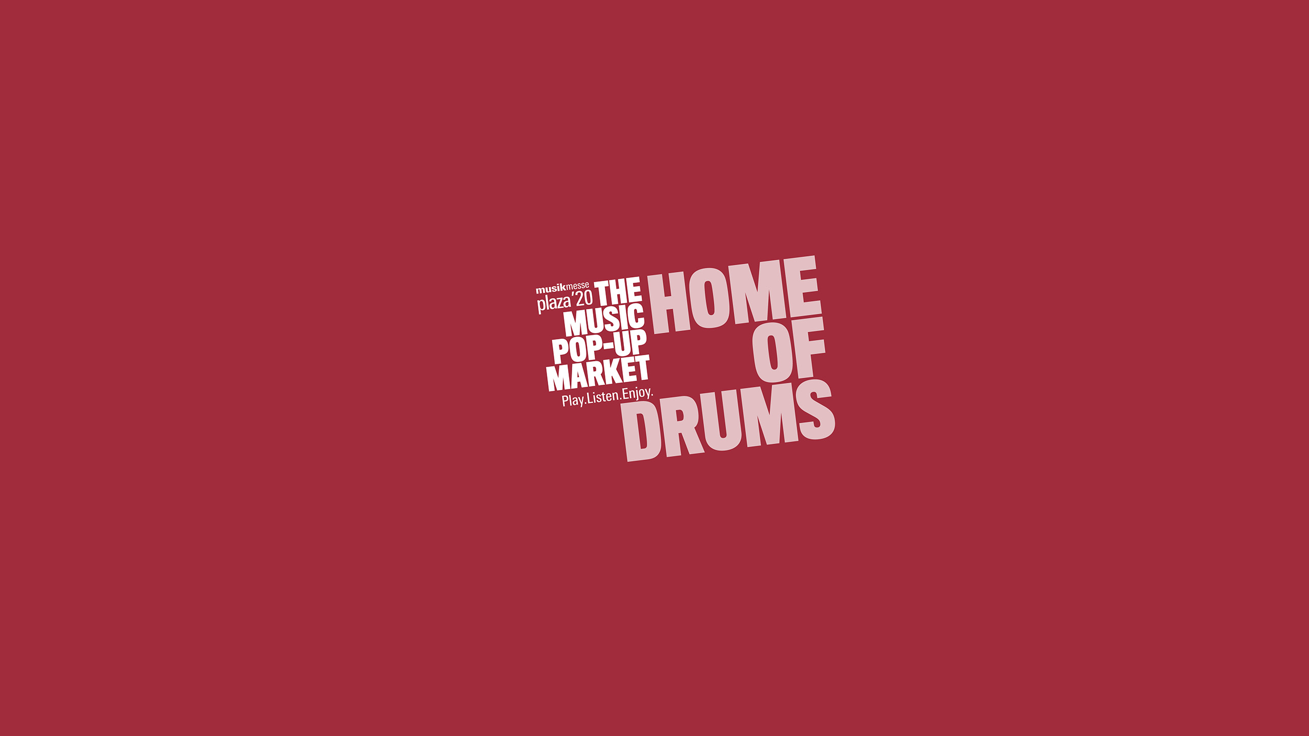 Home of drums at Musikmesse Plaza
