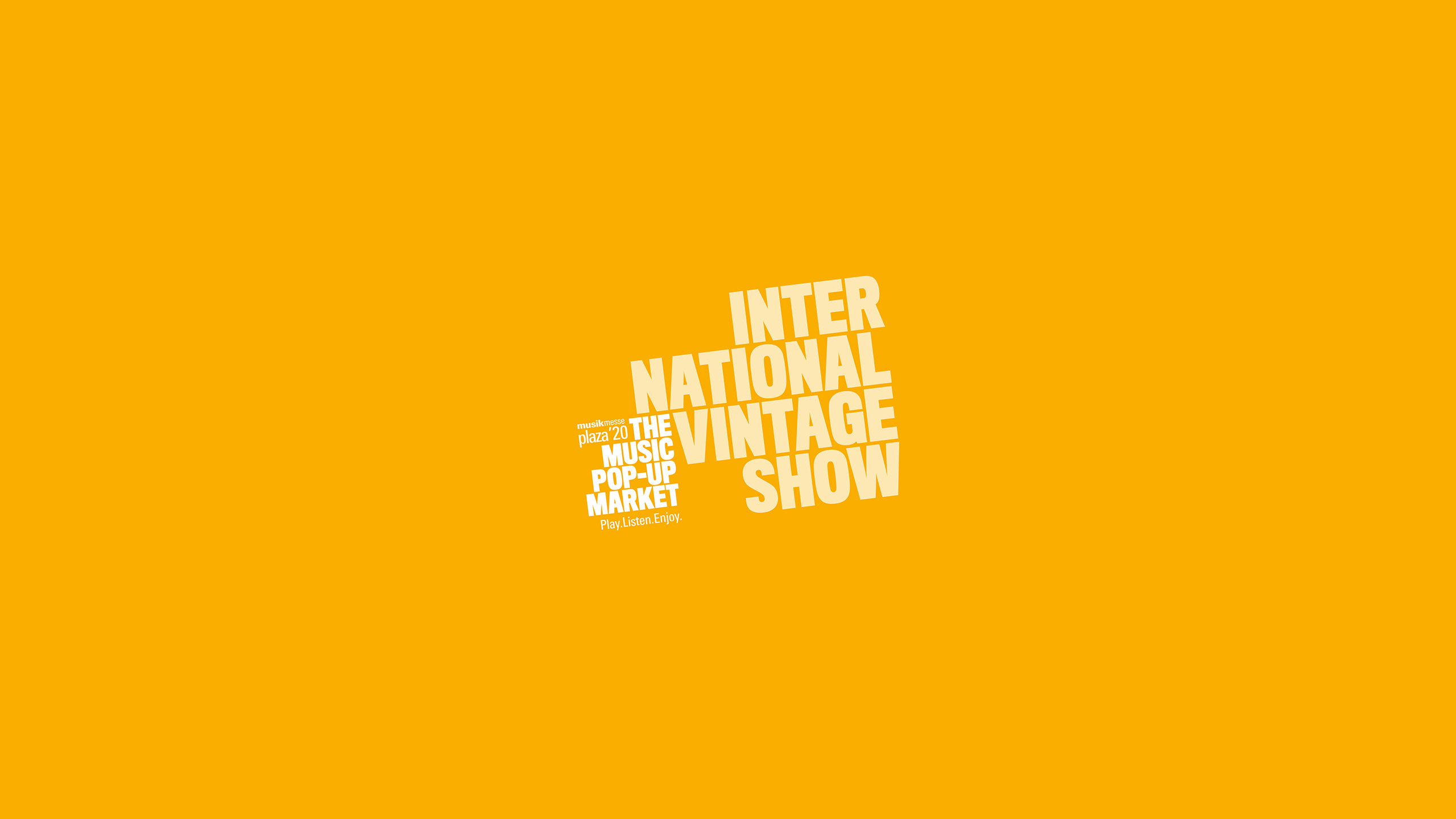 International Vintage Show at Musikmesse Plaza