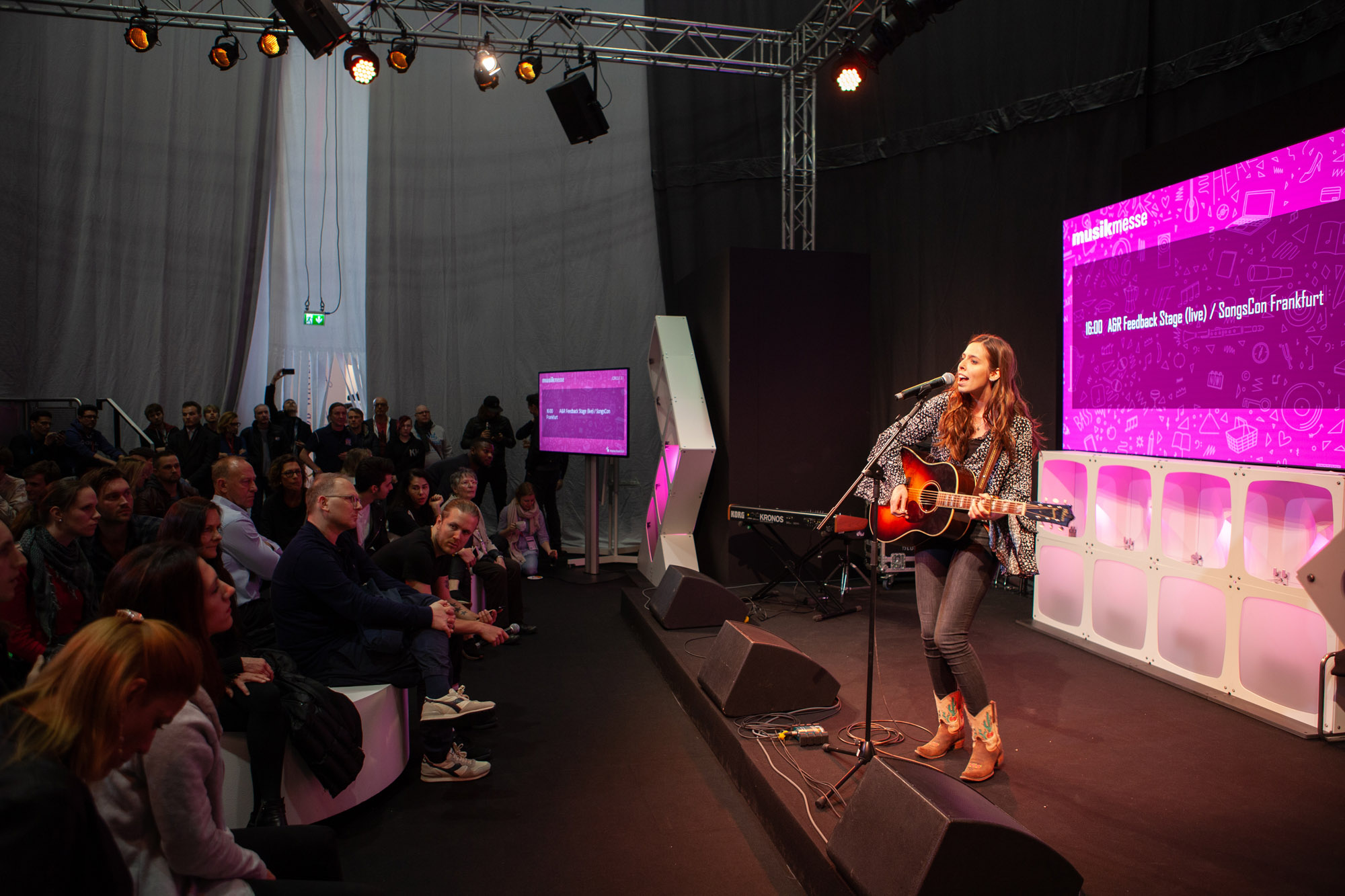 European Songwriting Award at Musikmesse