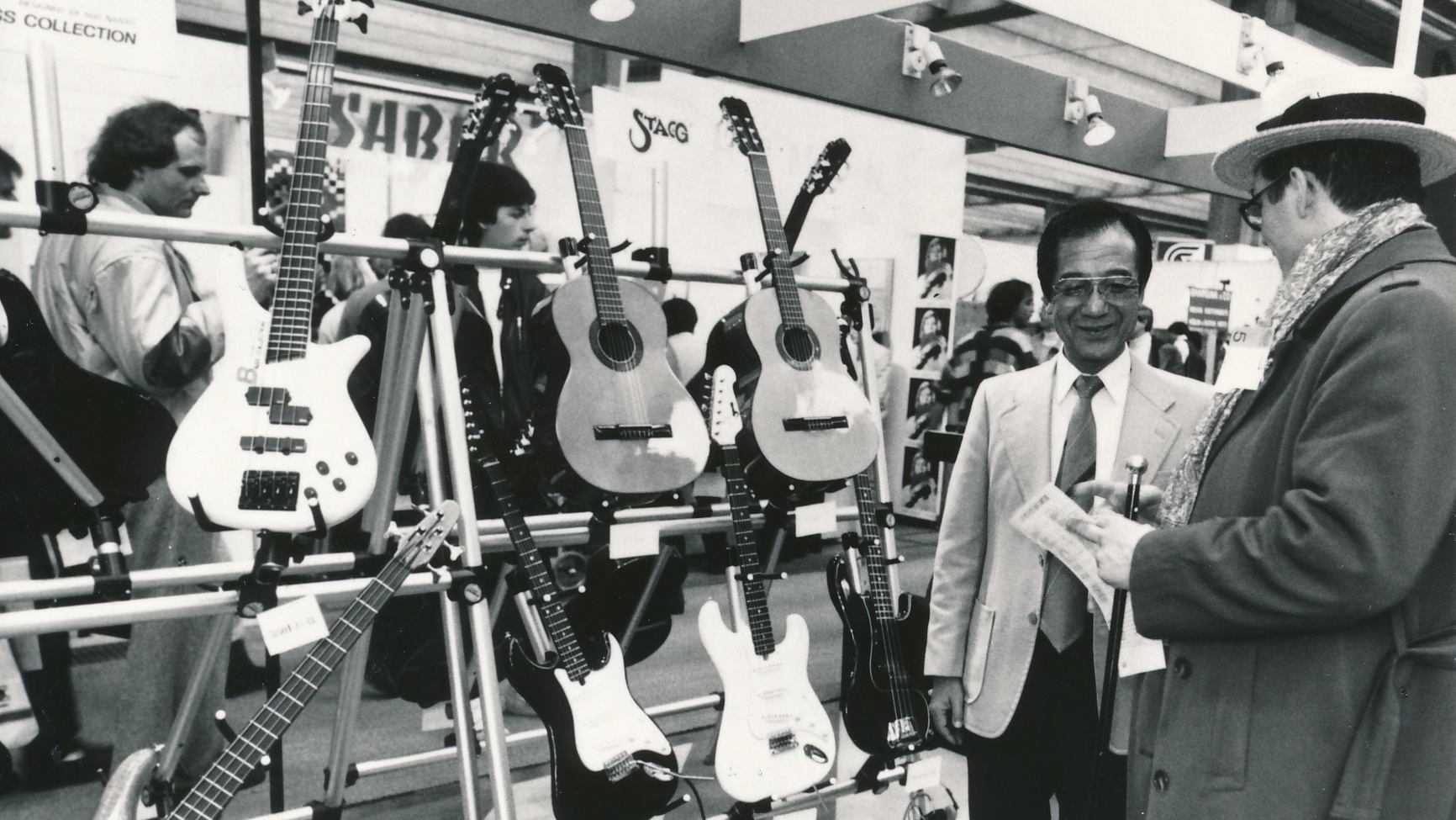 Musikmesse in the 1980s