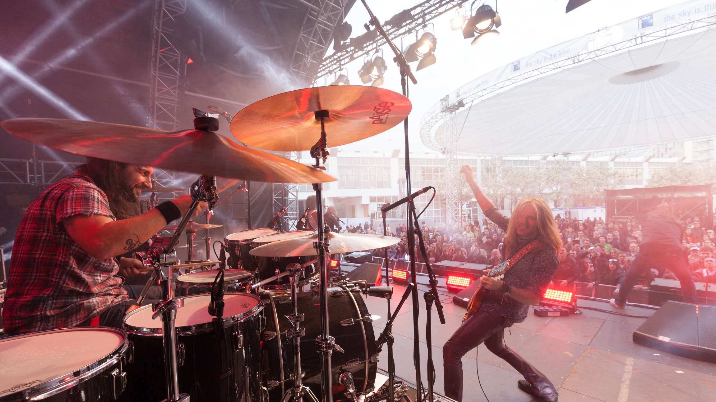 Dead Daisies auf der Center Stage