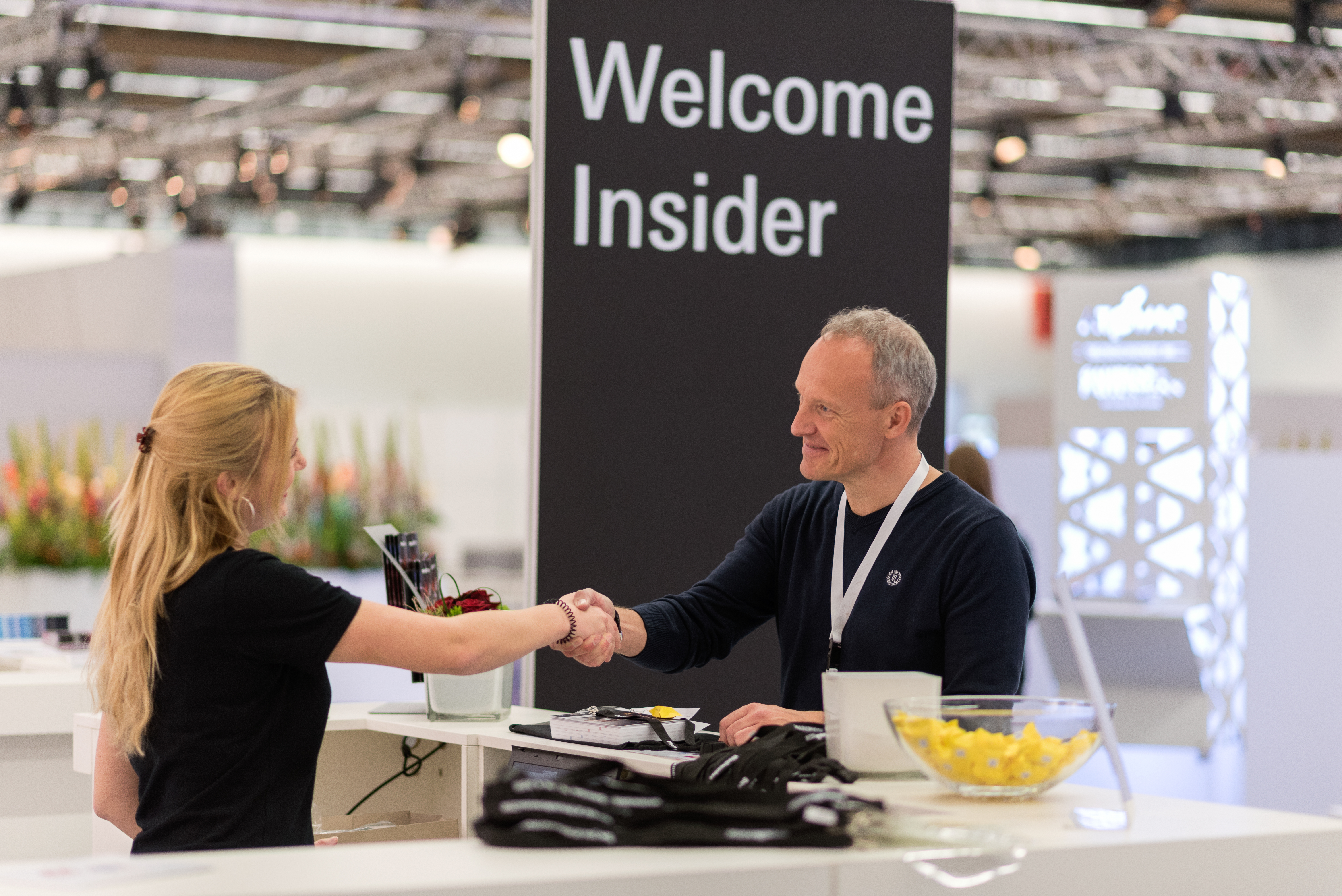 Visitors at the Musikmesse Insider Lounge