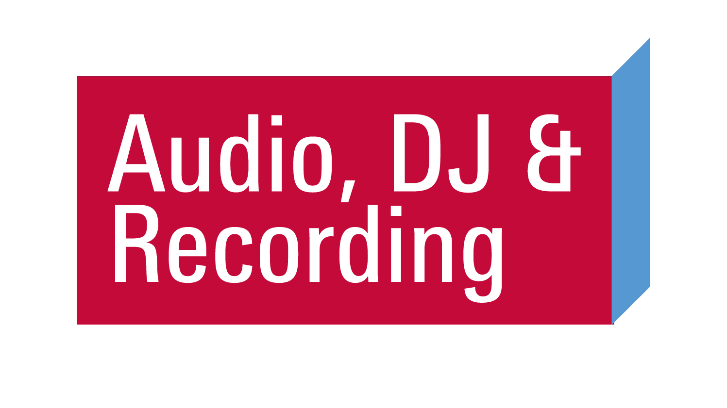 Audio, DJ & Recording Logo